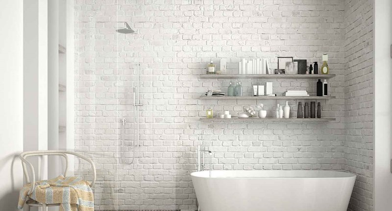 Add More Light & Illusion of More Space to Your Bathroom